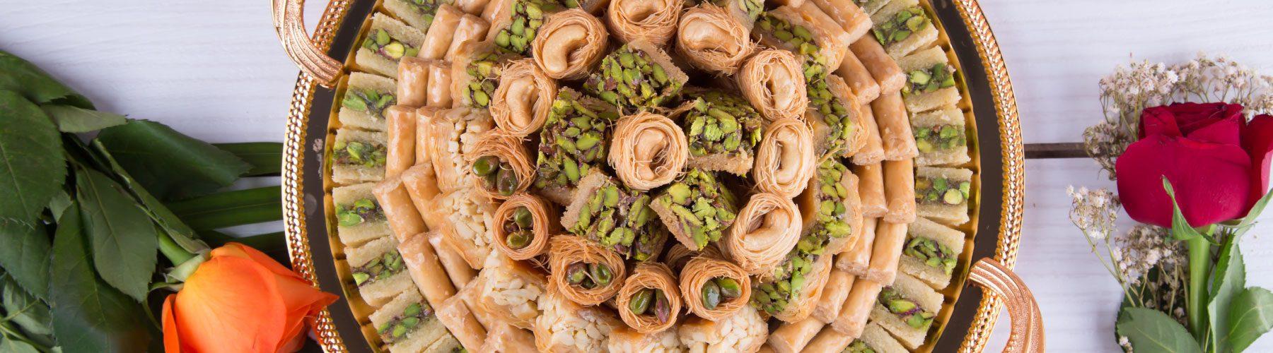 baklawa le damas sweets dubai